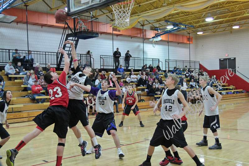 8th Grade Basketball '12-13